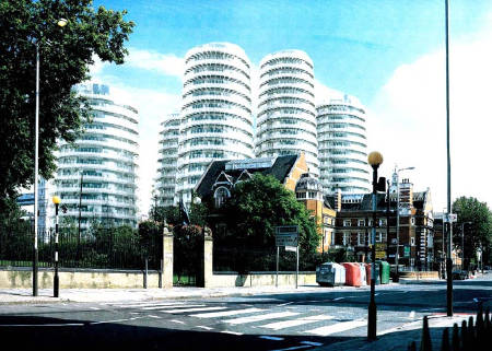 Berkeley Homes scheme for Potters Fields