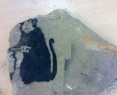 Banksy Found On Bankside Building Site Flogged On Ebay