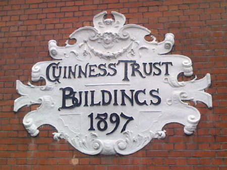 Guinness Trust housing in Snowsfields