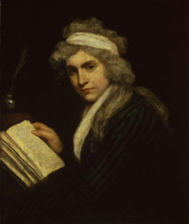 Mary Wollstonecraft painting at National Portrait Gallery ...