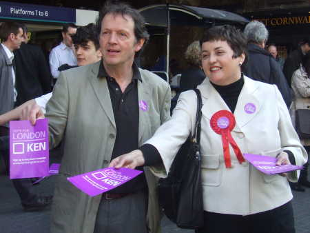 Kevin Whately and Val Shawcross