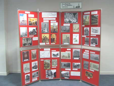 Exhibition on Southwark and St George organised by