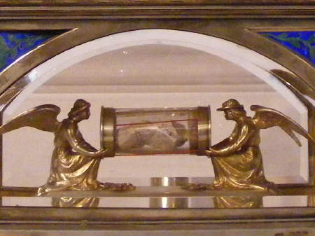 St George's Cathedral has a relic of St George whi