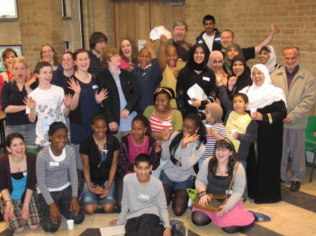 First interfaith youth arts event at Southwark Cathedral