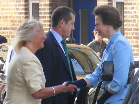 Princess Royal and Hilary Wines
