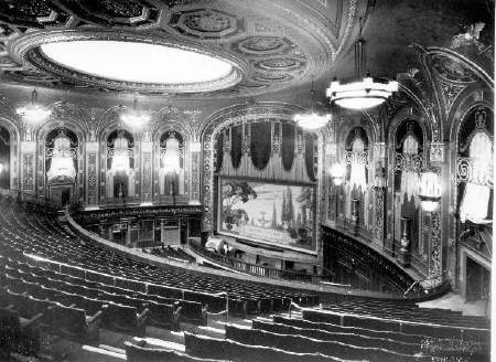 The interior of the Troc in 1930