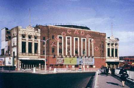 The Troc shortly before demolition in 1963