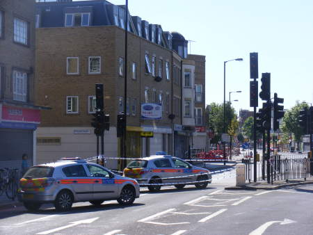 Two men arrested over Old Kent Road murder