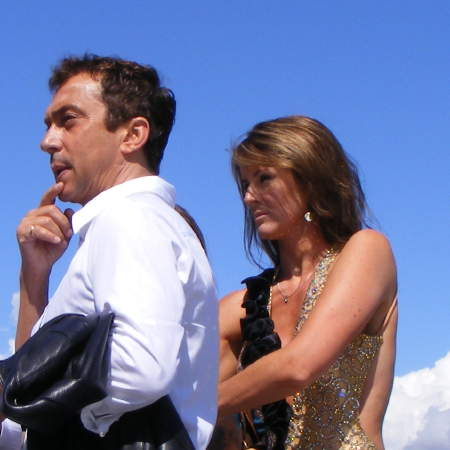 Bruno Tonioli and Erin Boag from Strictly Come Dan