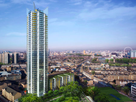 360 London tower designed by Rogers Stirk Harbour