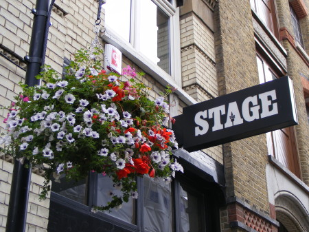 The offices of The Stage in Bermondsey Street