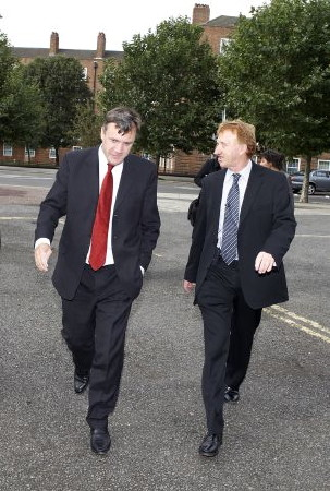 Ed Balls and Keith Sharp