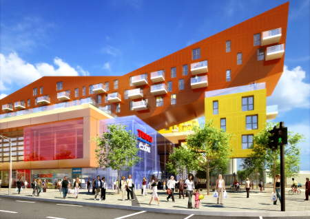 Tesco Old Kent Road proposal by BDP