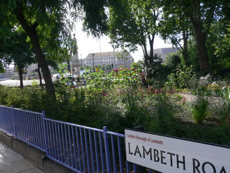 St Mary's Garden in Lambeth Road now a brighter, greener place