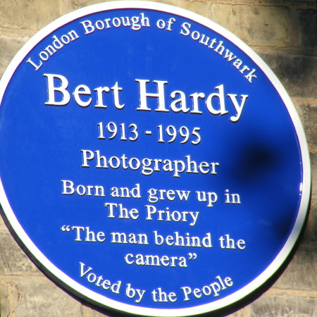 Bert Hardy blue plaque