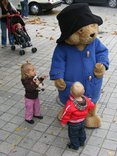 Paddington Bear on the South Bank