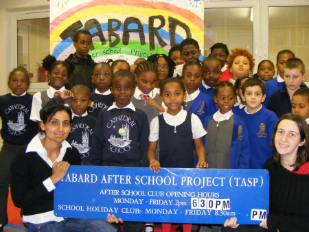 Tabard After School Project says 'thank you' to camapigners