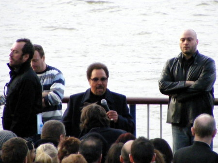 Tom Jones on the South Bank