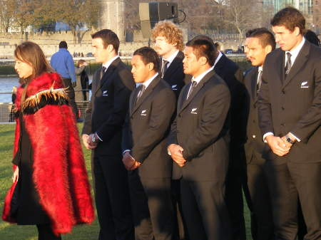 All Blacks at Potters Fields Park
