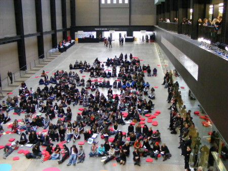 The conference was held in the Turbine Hall
