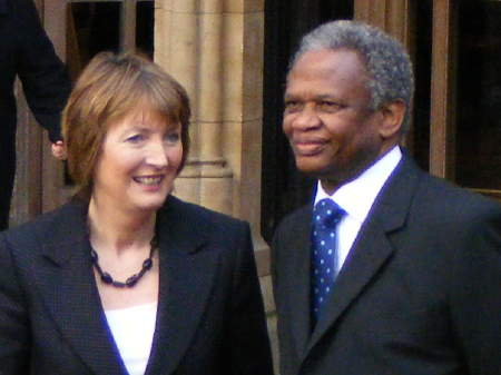 Harriet Harman and Richard Taylor
