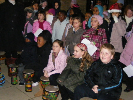 Children from Tower Bridge Primary School
