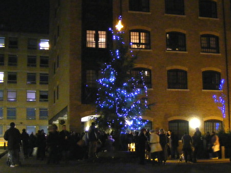 Christmas tree at Cayenne Court