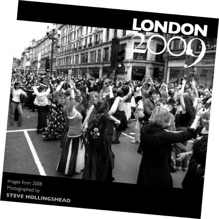Local photographer Steve Hollingshead's 2009 London calendar