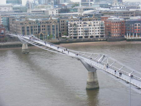 What made the Millennium Bridge so wobbly?
