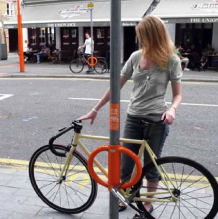 Cyclehoop in Union Street