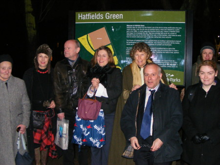 Kate Hoey MP at Hatfields Green