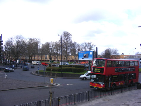 Southern Roundabout at Elephant & Castle