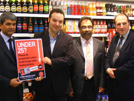 Look under 25? You'll need to show ID to buy alcohol at Costcutter