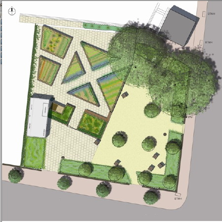 Community Garden Planned For Bleak Melior Street Plot