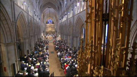 Southwark Cathedral hosts BBC One's Easter Eucharist