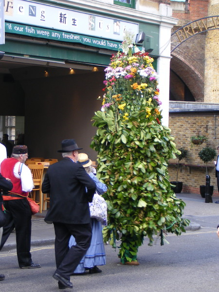 Deptford Jack in the Green tours Bankside streets and pubs