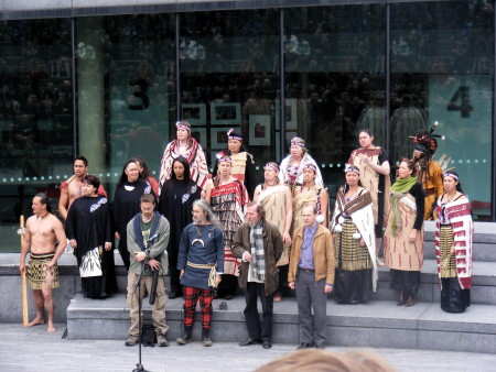 London Maori group Ngati Ranana