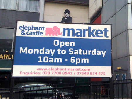 Elephant & Castle Market will stay for another five years