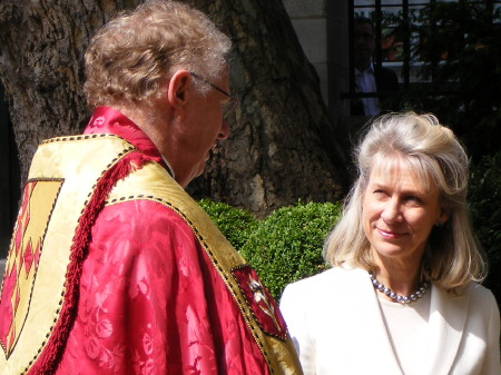 Duchess of Gloucester at Southwark Cathedral