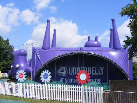 Arts training academy for local young people at Udderbelly on South Bank