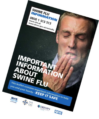 Swine flu booklet