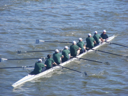 MPs rowing team