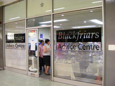 Blackfriars Advice Centre