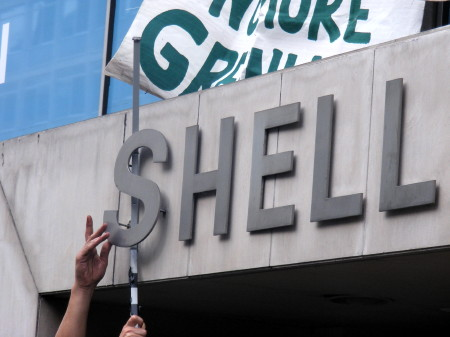 Shell Centre becomes 'Hell Centre' as Climate Campers descend on Waterloo