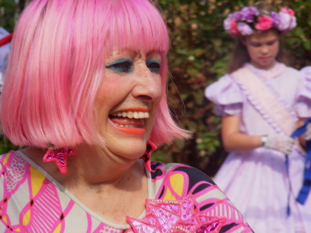 Zandra Rhodes declared the festival open