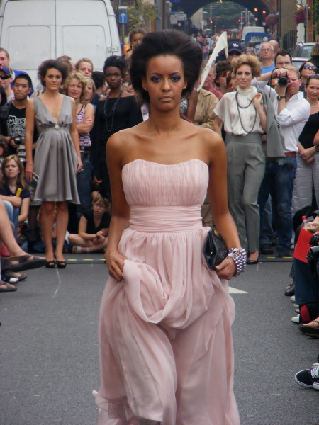 Fashion show in Bermondsey Street