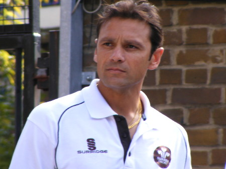 Mark Ramprakash at Tower Bridge Primary School