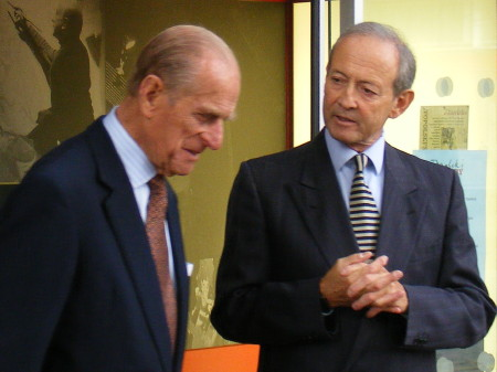 Duke of Edinburgh & Daniel Topolski