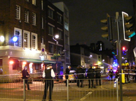 Lower Marsh beer garden damaged in late-night fire