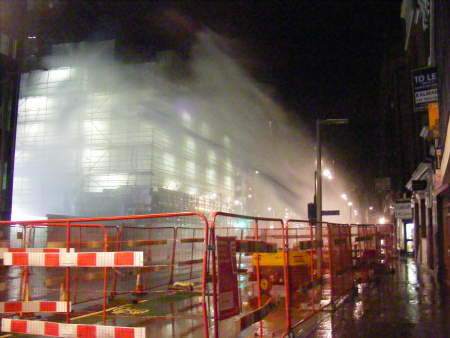 ANOTHER burst water main in Tooley Street